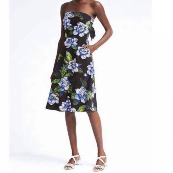 Banana Republic Dresses & Skirts - Banana Republic | Fit & Flare Floral Dress